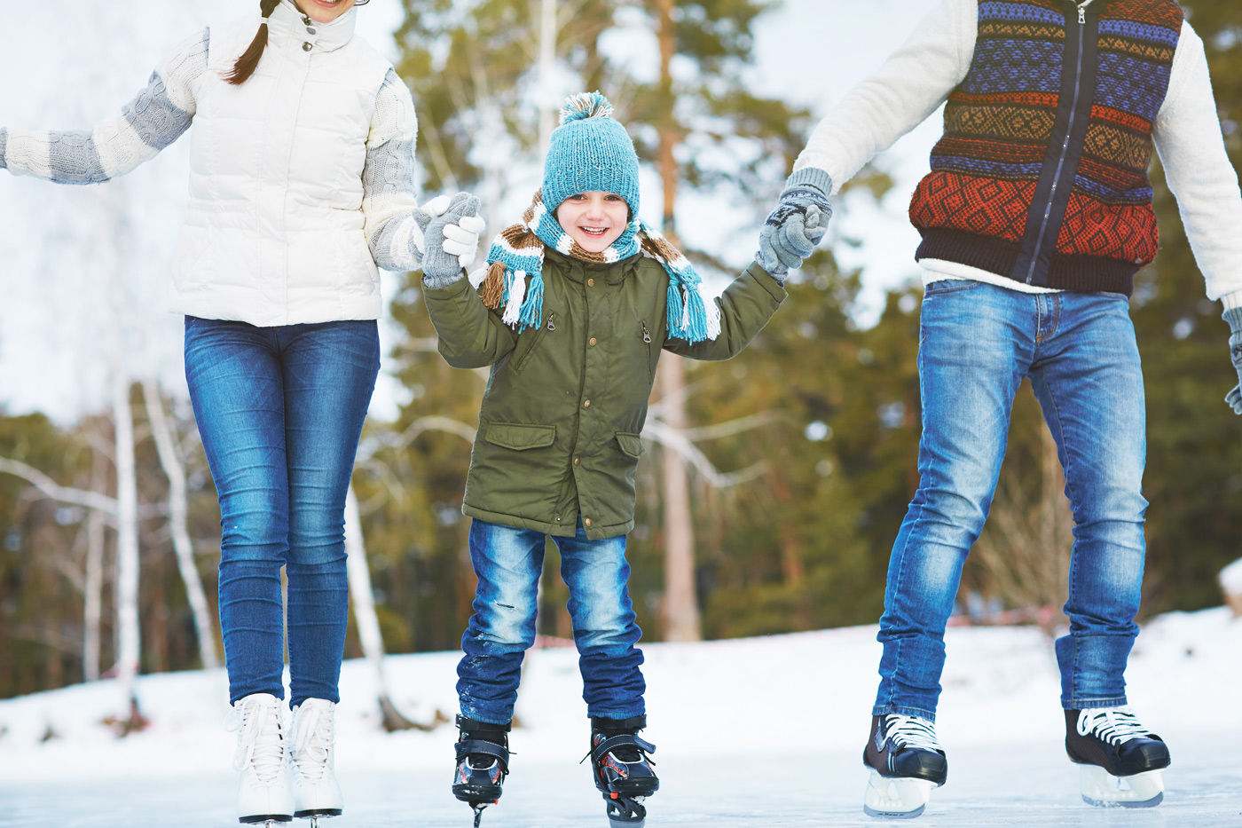 Go for a skate on Family Day at Cameco Meewasin Skating Rink, a short drive from our Saskatoon airport hotel.
